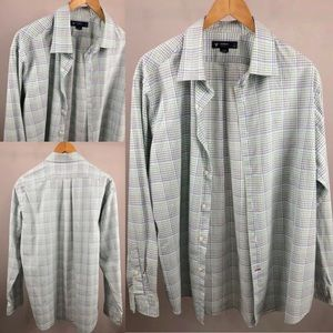 Men's DANIEL CREMIEUX SzXL Multicolor Button Shirt